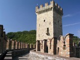 Medieval castle near Piacenza